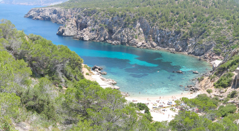 The 7 beaches you can't miss in the north of Ibiza - Can