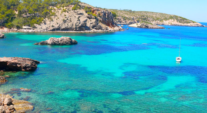 The 7 beaches you can't miss in the north of Ibiza - Can Coves Ibiza
